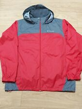 COLUMBIA MEN'S WINDBREAKER JACKET SIZE L VERY GOOD CONDITION