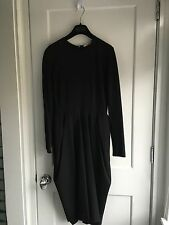 Celine Black Tulip Dress