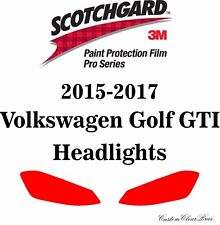 3M Scotchgard Paint Protection Pro Series 2015 2016 2017 Volkswagen Golf GTI