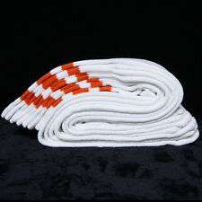 "One Pair Cotton 3 Stripe Knee High Tube Socks Old School 24"" Soccer Sports 10-15"