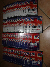 OPERA COMPLETA 30 DVD + 30 CD-ROM BBC ENGLISH PLUS CORSO DI INGLESE