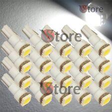 20 LED T5 SMD BIANCO Lampade Luci Di Posizione Per Fari Angel Eyes Xenon 12V W5