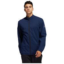 2021 adidas Mens Provisional Rain Jacket Water Resistant Golf Coat Full Zip