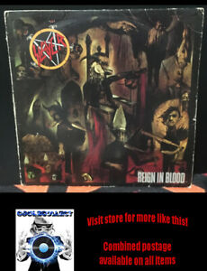 Slayer – Reign In Blood - USA 1st press (1986) Rare!
