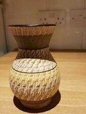 Dumler & Breiden 116-15 Sgrafito vase SIGNED + marked Vintage WGP 15cm Xllnt
