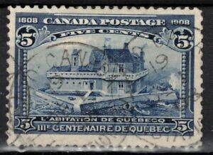 CANADA Scott 99 Used ## 1 cent start ##