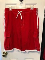 Beverly Hills Polo Club Shorts Size Large Red