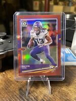 2020 Donruss Optic Dalvin Cook #64 Red Holo Prizm /99