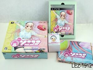 Motto Sonicomi Super Sonico Limited Edition PS3 Playstation 3 Japan Import