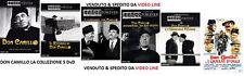 Dvd Don Camillo & Peppone - La Collezione Completa (6 Film 8 Dvd) .......NUOVO