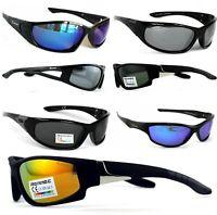 Rennec Sonnenbrille Polarisiert Verspiegelt Radbrille Bikerbrille Sportbrille