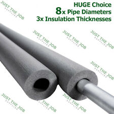 Climaflex Foam Pipe Insulation ~ Lagging Wrap Roll ~Huge Range inc 9mm 13mm 25mm