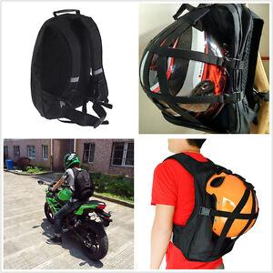 Multifunctional Black Helmet Bag Motorcycle Bikes Backpack Helmet Bag Waterproof