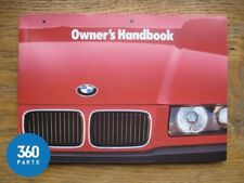 BMW 3 Series Owners Manual Handbook Folder 1991 - 1997 E36 Coupe Cabriolet TDS