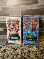 Lot of 2 Mary-Kate & Ashley Olsen Twins VHS Movies The Adventures Of Video Tape
