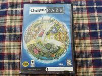 Theme Park - Authentic - Sega Genesis - Case / Box Only!
