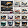 Sunset Mountain Tapestry Art Wall Hanging Nature Landscape Room Home Decor