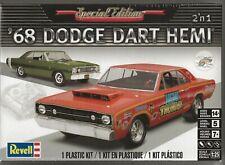 Revell 1 7.6m68 Dodge HEMI Dart 2n1 Model Kit.