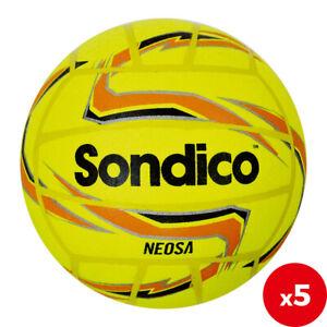 5 x Sondico Neosa Indoor Footballs Size 4