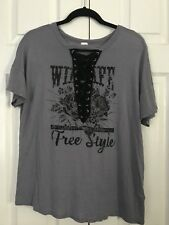 Lace up Shirt - Med