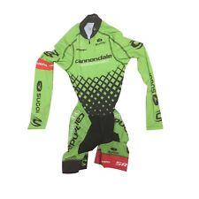 Women's 2016 Sugoi Cannondale CX Aero LS Pocketed Cycling Skinsuit, Size XS EUC