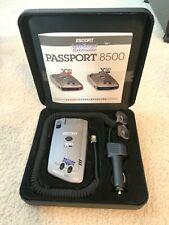 Escort Passport 8500 X50 Radar/Laser Detector Red Display Lights