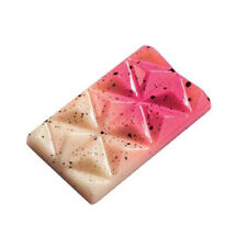 Martellato Clear Polycarbonate Chocolate Mold, Connected-Pyramids Mini Snack Bar