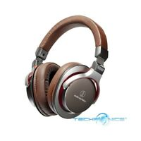 AUDIO-TECHNICA ATH-MSR7GM SONICPRO OVER-EAR HIGH-RESOLUTION HEADPHONES GUN METAL