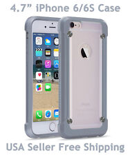 "SUPCASE For iPhone 6/6S 4.7"" Unicorn Beetle Hybrid Protective Case Gray Frost"
