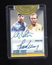 Star Trek TOS Portfolio Prints DA32  William.Shatner/L.Nimoy auto card