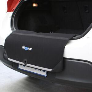 Neoprene Rear Bumper Protector - Scratch Free - Easy Install - Boot Flap