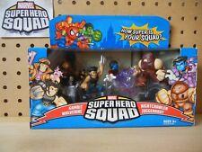 Marvel Super Hero Squad X-MEN UNITE: JUGGERNAUT ATTACKS 4-PK Gambit Nightcrawler