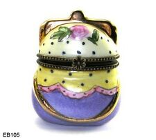 0105 Floral Purse Trinket Box Perfect To Give With Gift Of Cash Or Check