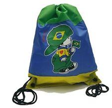 Brasil Brasilian Flag drawstring backpack tote bag cinch sack Handbag Brazil Gym