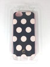 IPhone 6 Skinny Mini Studio C Black White Polka Dots Pink Trim Cellphone Case