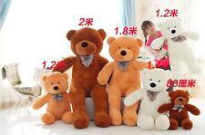 Giant Huge Teddy Bear Soft Plush Toy Stuffed Doll Birthday Gift For Girlfriends