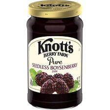 Knott's Berry Farm Pure Seedless Boysenberry Jam 16 oz
