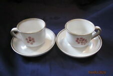 DENBY GYPSY 2 X TEA CUPS AND SAUCERS