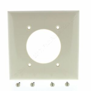 "P&S Ivory Standard 2.156"" Receptacle Outlet Wallplate Dryer Range Welder SP703-I"