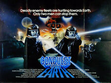 CONQUEST OF THE EARTH 1980 Kent McCord, Barry Van Dyke, Lorne Greene UK QUAD