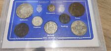 More details for 1926 gb great britain british vintage coin set - rare!