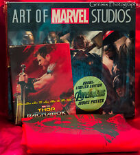 Thor: Ragnarok SteelBook (3D/Bluray/) + Art Of Marvel Studios Books Set +T-Shirt