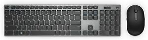 Dell KM717 Premier Bluetooth RF Wireless Keyboard and Mouse Combo KM717-GY-US