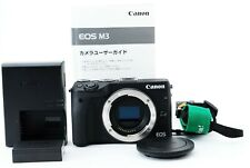 Canon EOS M3 24.2MP Mirrorless DSLR camera Black Body [Near MINT] From JAPAN