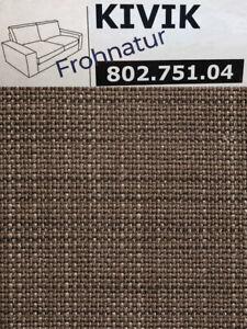Ikea KIVIK Bezug für 2er Sofa Isunda braun 802.751.04 neu OVP Ersatzbezug Husse