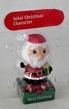 Santa Claus Dancing Solar Character Christmas Holiday Waving Figurine NEW