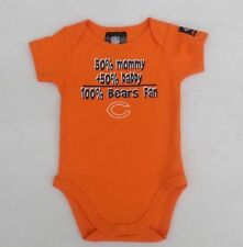 NFL Chicago Bears Short Sleeve Bodysuit 50% Mommy + 50% Daddy 18 Months