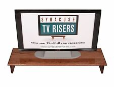 "Red Oak ""SOUND BAR"" TV RISER-40"" wide x 12"" deep x 5 1/2""-By Syracuse TV Risers"
