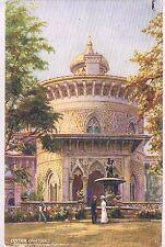 POSTCARD Cintra Portugal Palacio De Monserrate Royal Mail Steam Packet Co 1921