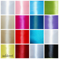 Many Colours * PREMIUM Quality Satin Ribbon WIDTH:6~12~25~38~50 mm  CHEAPEST